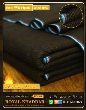 RW302 Black Golden Special Safini Khaddar
