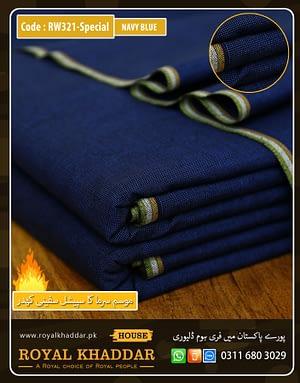 RW321 Navy Blue Special Safini Khaddar