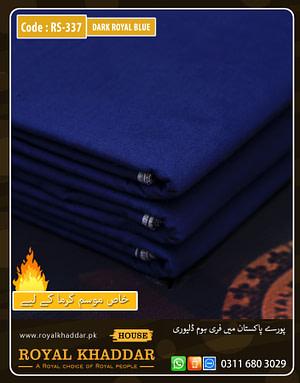 Dark Royal Blue Special Royal Summer Khaddar