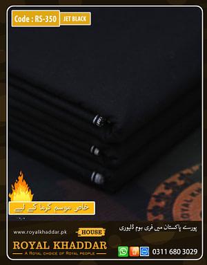 Jet Black Special Royal Summer Khaddar