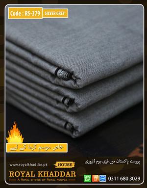 Silver Grey Special Royal Summer Khaddar
