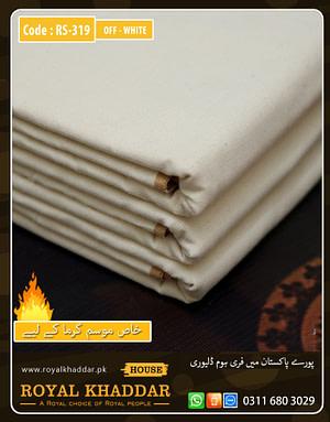 Off-White Special Royal Summer Khaddar